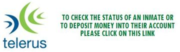 To check the status of an inmate or to deposit money into their account, please click on this link