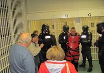 Tour of a prison facility