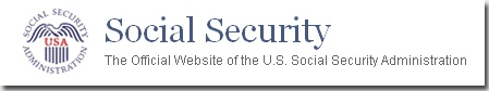Social security, the official website of the U.S. Social security administration