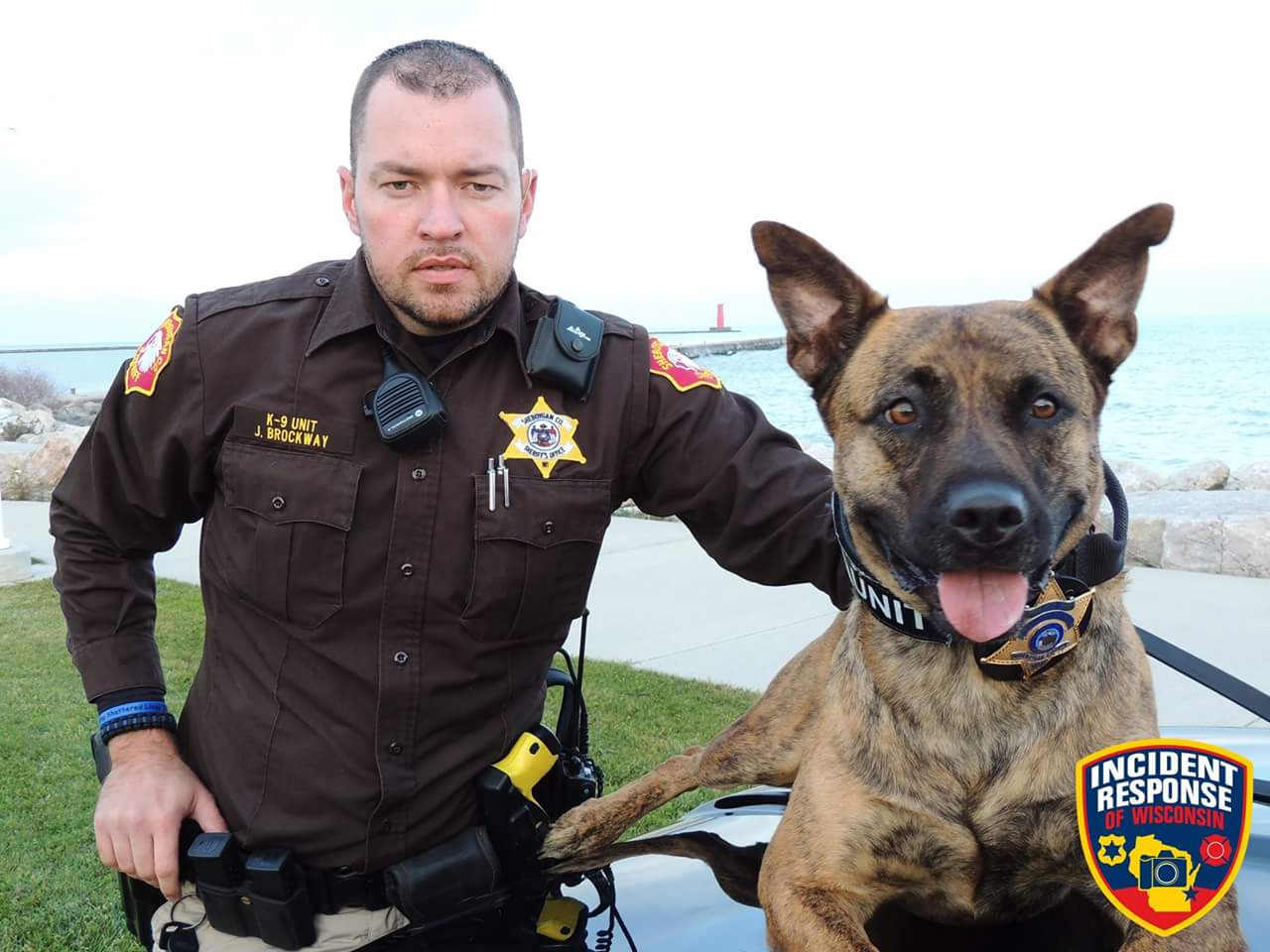 Deputy Brockway and K9 Mika